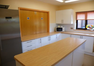 Pagham Main hall kitchen