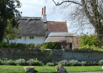 © Tony Guest Pagham thatched cottage